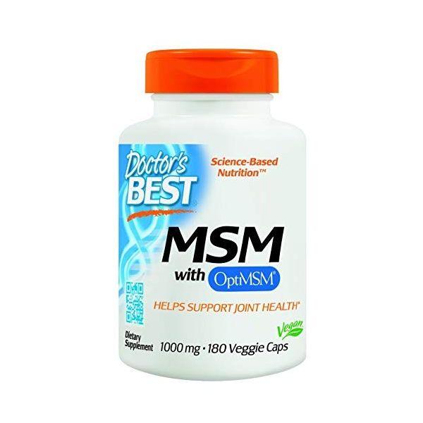 MSM 1000mg OptiMSM® 180kaps. Doctor's Best