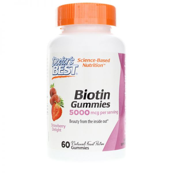 Biotin Gummies - Biotyna (60 żelek)