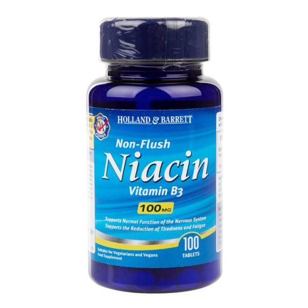 Witamina B3 - Niacyna (Niacin Non-Flush) (100 tabl.)