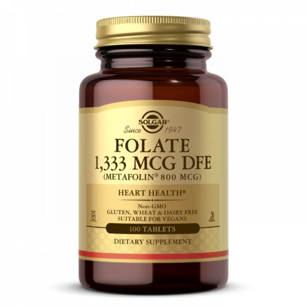 Folate 1333 mcg  -  Metafolin 800 mcg (100 tabl.)