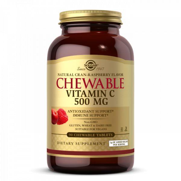 Chewable Vitamin C 500 mg (90 tabl.)