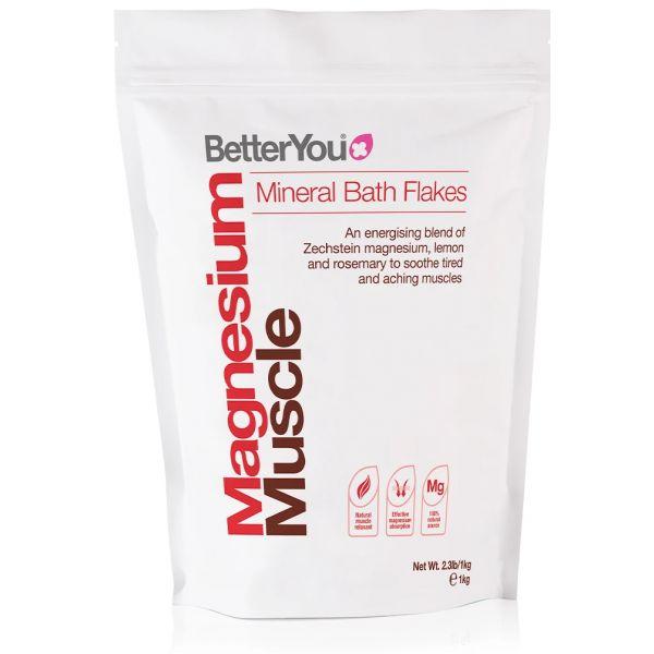 Magnesium Flakes Muscle - Płatki Magnezowe do kąpieli (1 kg)