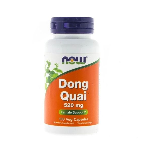 DONG QUAI 520mg 100kaps. Now Foods