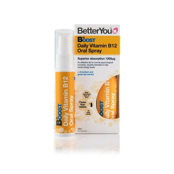 WITAMINA B12 w sprayu 25ml BetterYou