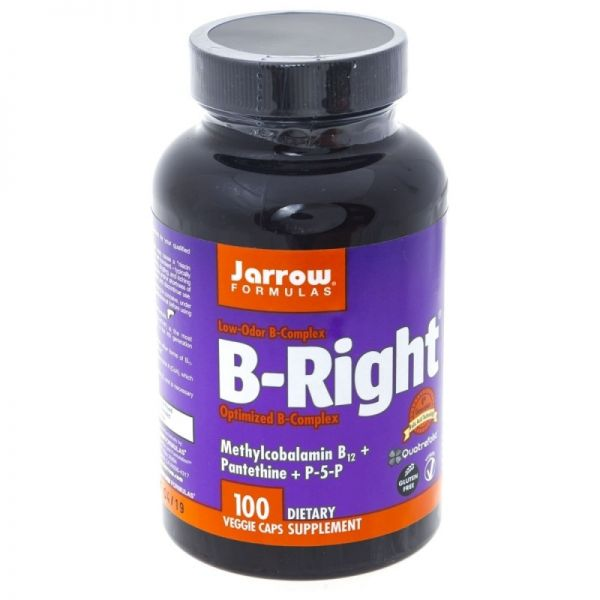 Kompleks Witamin z Grupy B B-Right 100kaps. Jarrow Formulas